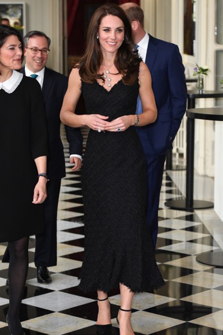 Kate Middleton in Gianvito Rossi