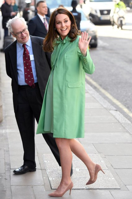 Kate Middletone in Gianvito Rossi