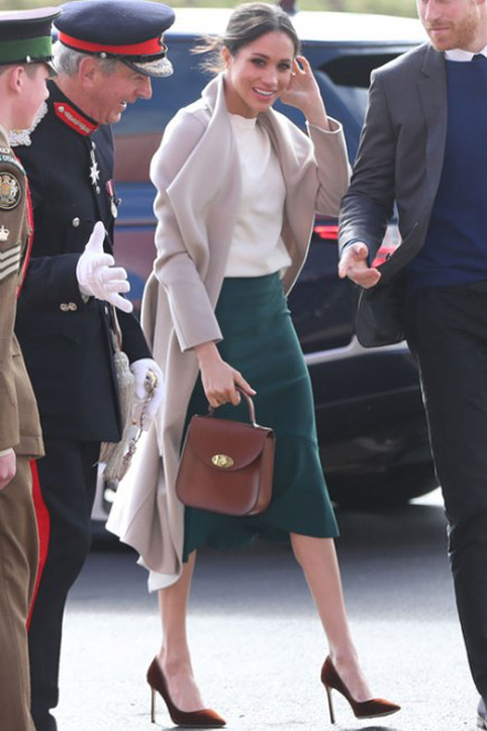 Meghan Markle in Jimmy Choo