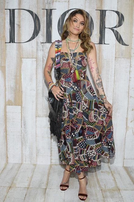 Paris Jackson in Dior